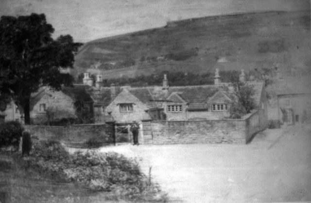 The Old Hall, Whitehough, c 1910s