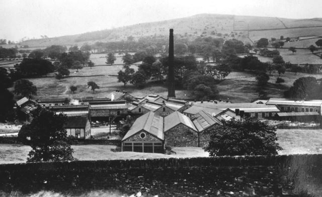 Welch's Mill, Whitehough, c 1930s