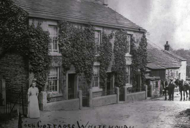 Rock Cottages, Whitehough, c 1910s