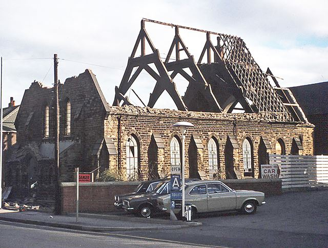 Demolition of Brampton Congregational Church