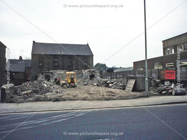 Demolition of Brampton Congregational Church