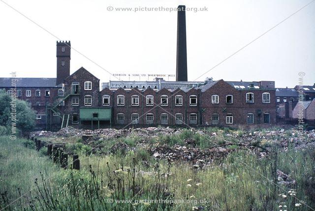 Robinson's Wheatbridge Mills, Brampton, 1970