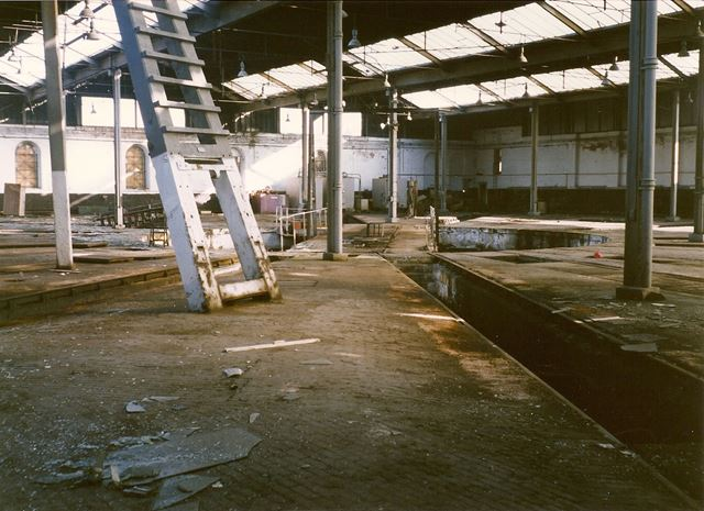 Barrow Hill Roundhouse, near Staveley, 1994 (Before Refurbishment)