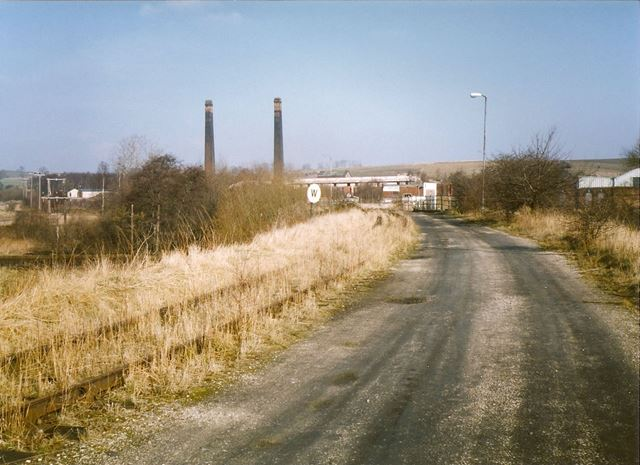 Roundhouse and Phoenix Brickworks, Barrow Hill, near Staveley, 1994