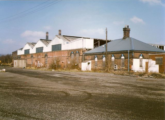 Barrow Hill Roundhouse, near Staveley, 1994