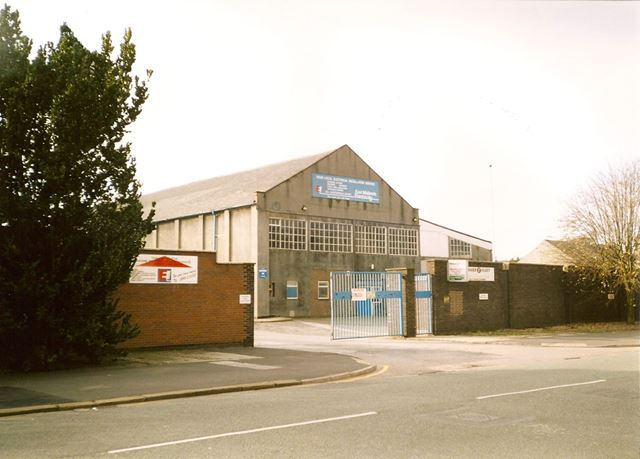 East Midlands Electricity Workshop Building, Chatsworth Road, Chesterfield, late1990s