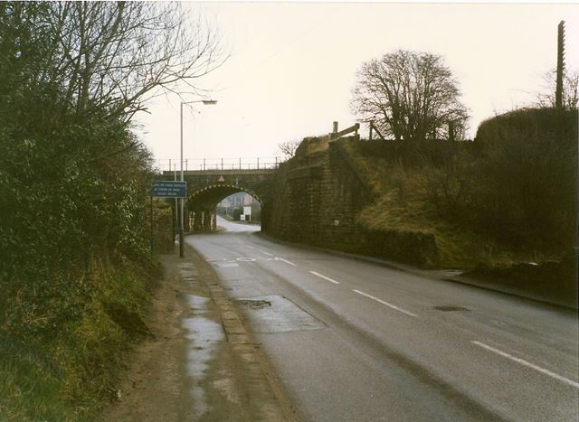 Railway Bridge, Brimington Road North, Brimington, 1994