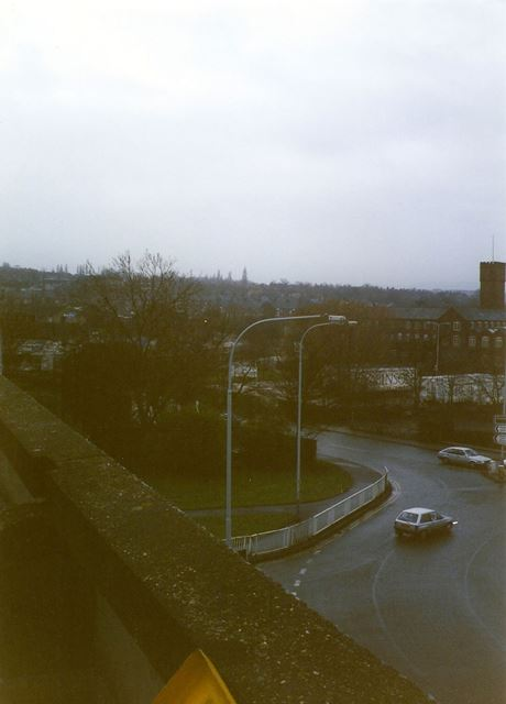 West Bars Roundabout and Boythorpe Road, Chesterfield, 1995