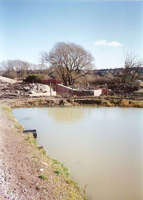 Renovation of Dixon's Lock, Chesterfield Canal, nr Brimington, 1995