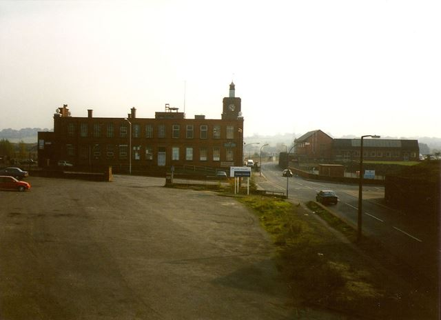 Staveley Works Clock Tower Building and Bus Hard-Standing, Works Road, Barrow Hill, 1994