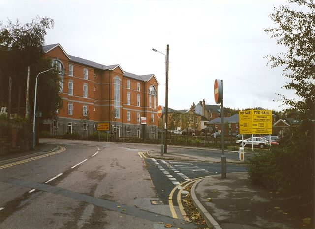 Old Royal Hospital (Redeveloped), Brewery Street/Durrant Road, Chesterfield, 1994