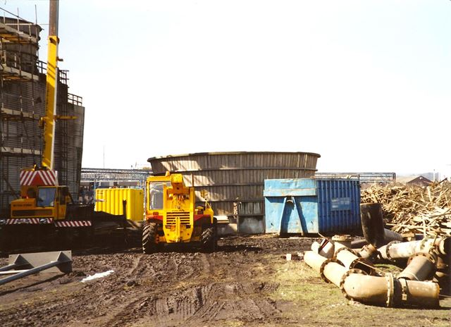 Maintenance of BTC Plant Coolers, Staveley Chemicals, nr Works Road, Hollingwood, 1995