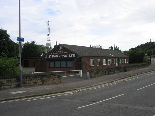 A.E. Parsons Building (Electrical, Radio and TV), Brimington Road, Chesterfield, 1995