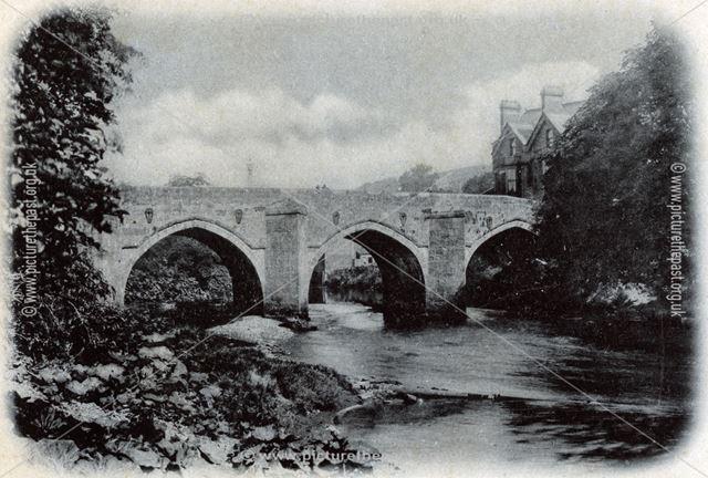 Matlock Bridge, c 1900