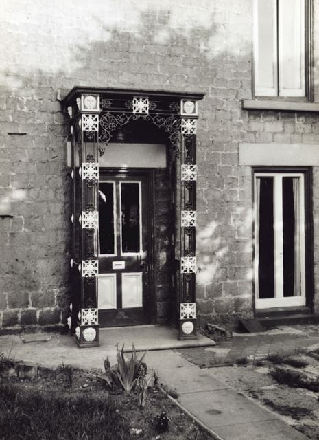 Unknown Doorway, Bolsover, c 1955