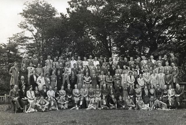Group Photo, Sherwood Lodge, Bolsover, c 1950