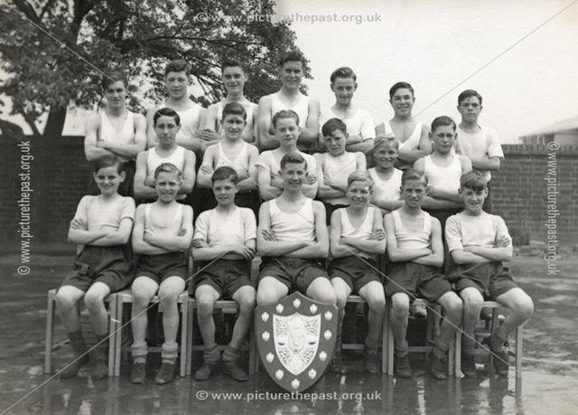 Bolsover Football Team, c 1945