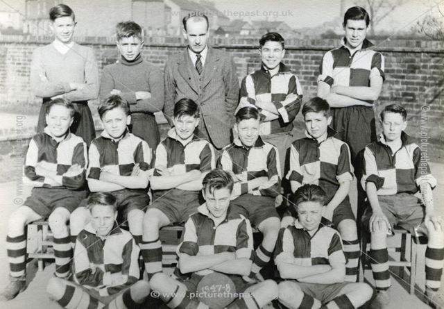 Bolsover Football Team, 1947-48