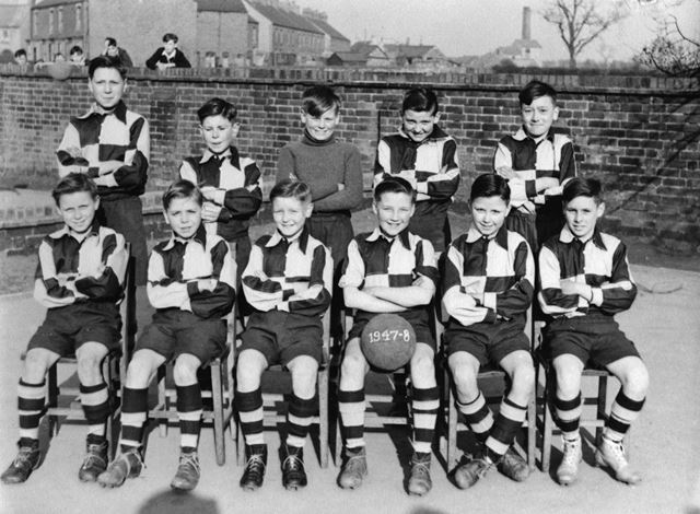 Bolsover Football Team, 1947-48
