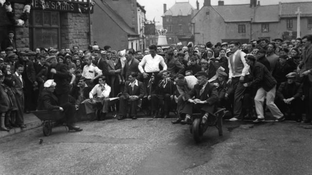 Coronation Celebrations, Bolsover, 1953