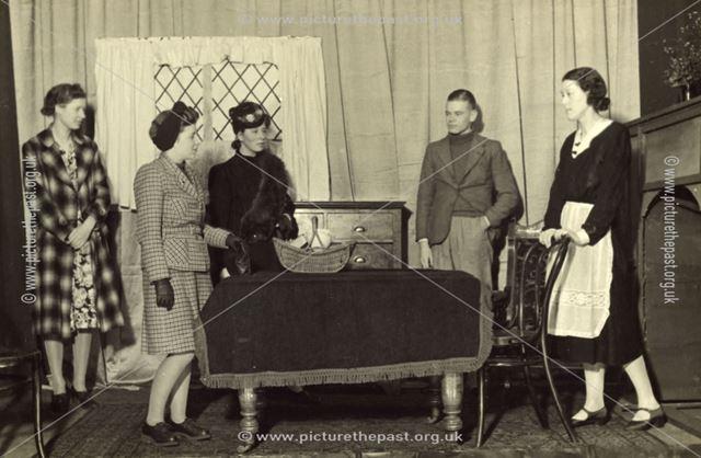 Amateur Dramatic Production, Bolsover, c 1935