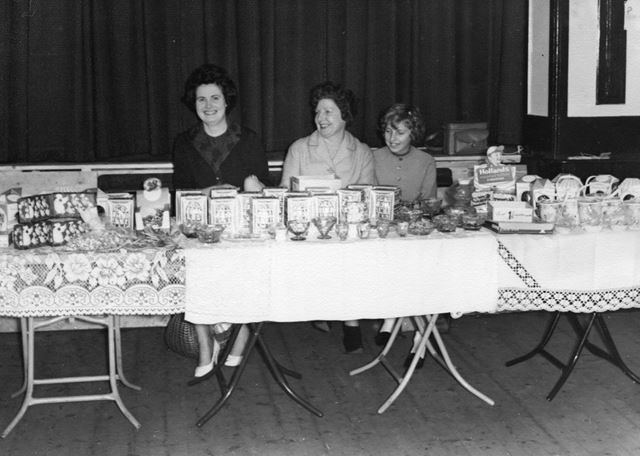 Townswomen's Guild Easter Fair, Town End Methodist Chapel, Bolsover, 1960