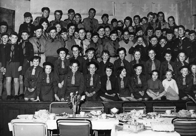 Bolsover Scouts and Guides Birthday Party, 1964