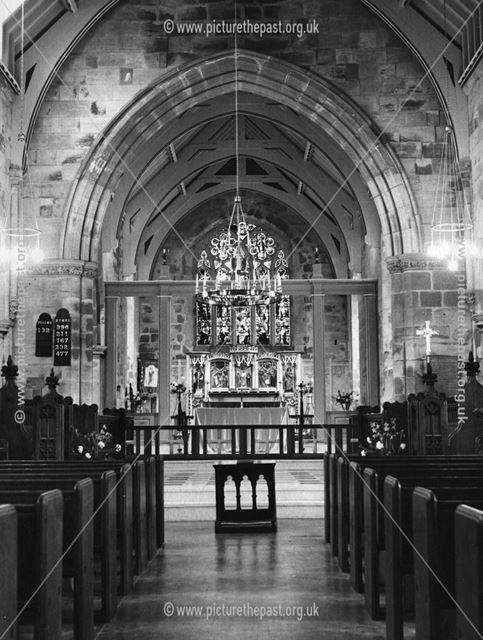Bolsover Church after Restoration, 1962