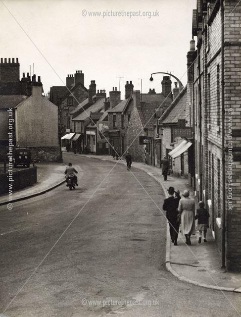 Town End, Bolsover, 1951