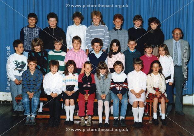 Class Photo, Bolsover Church of England School, 1987