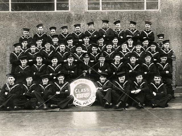 HMS Royal Arthur Class 123, Ingoldmells, Lincolnshire, 1939-40