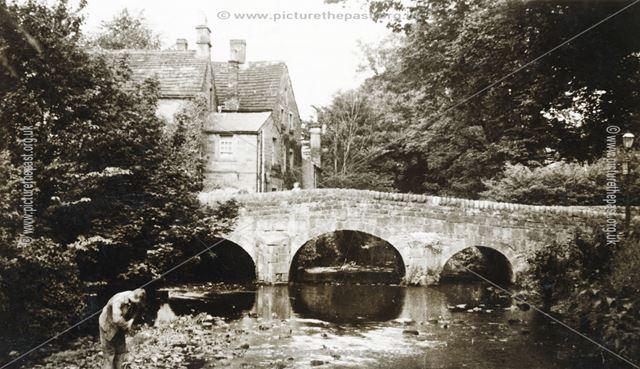 Nether End Bridge, Baslow, c 1950s ?