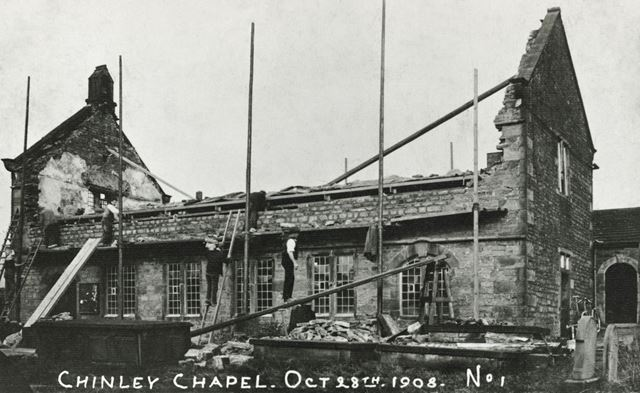 Chinley Chapel, 1908