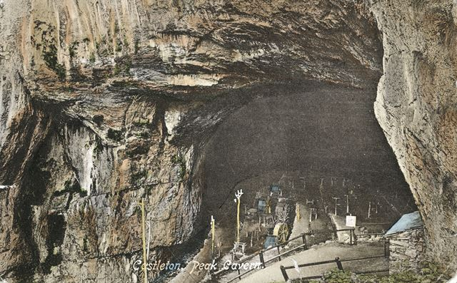 Peak Cavern, Castleton, c 1905 ?