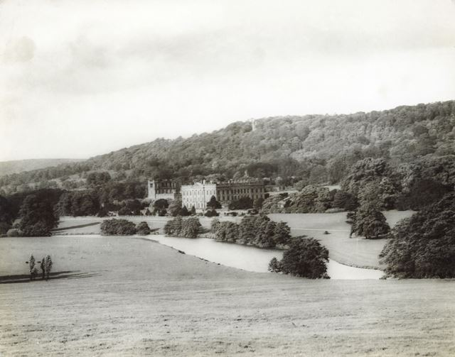 Chatsworth House and Park, c 1940s ?