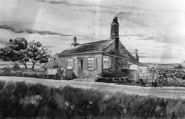 Stonyridge tollbar cottage, near Longshaw, late 19th century ?