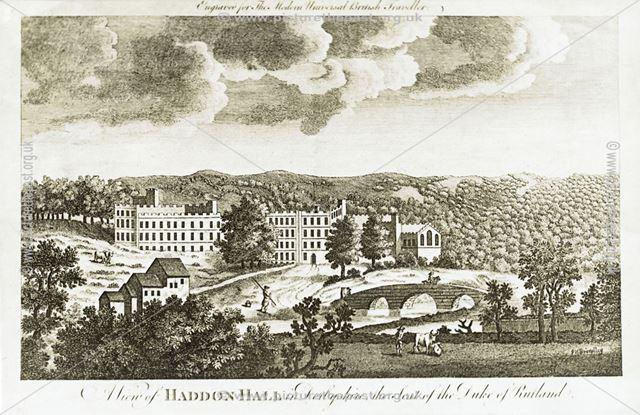 View of Haddon Hall, c 1779
