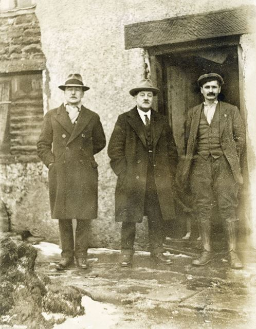 South Wales miner and Labour Party politicians, Kinder Scout, c 1920s ?
