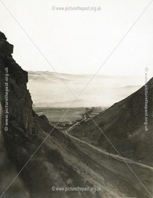 Winnats Pass, Castleton, 1908