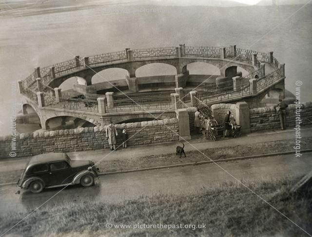 Ladybower Reservoir, c 1945
