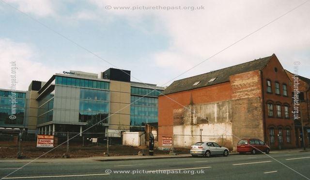 Empty Site Following Demolition, Canal Street, Nottingham, 2006