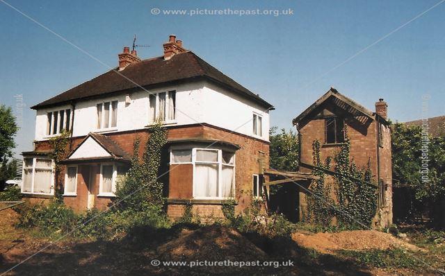 Old Derelict House, Radcliffe Road, West Bridgford, Nottingham, 2003
