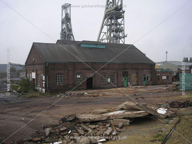 Demolition of Clipstone Colliery, off Mansfield Road, Clipstone, 2007