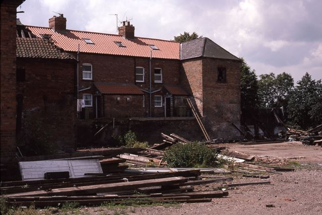 Old Wakes and Lamb Engineers Building Site, Mill Gate, Newark, 1987