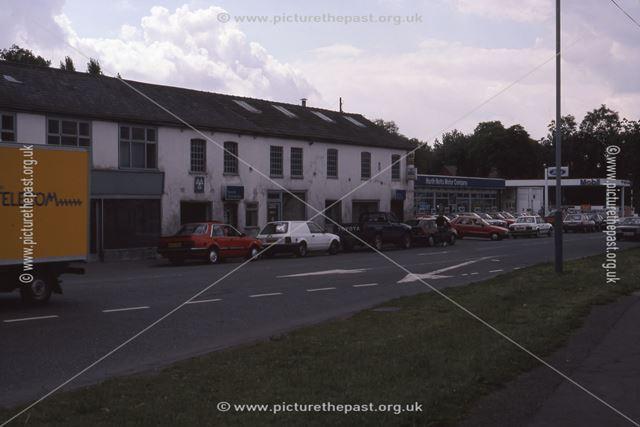 North Notts Motors (Cowies), Farndon Road, Newark, 1987