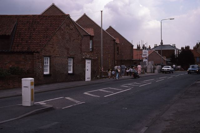 Victoria Street from Boundary Road Looking East, Newark, 1987