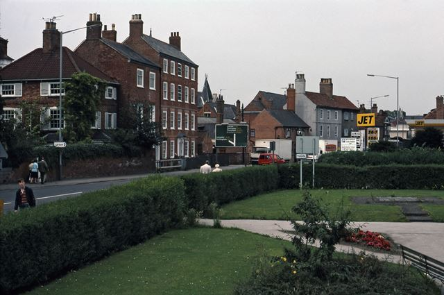Bowling Green from Beaumond Cross Monument, Newark, 1987