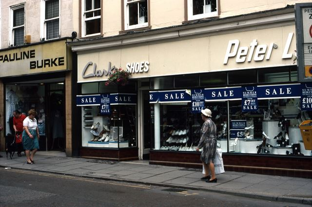 North Side, Bridge Street, Newark, 1987