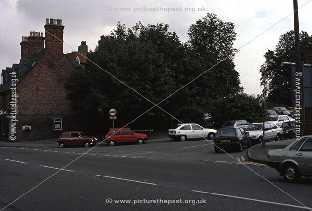 Bar Gate looking Towards Slaughterhouse Lane, Newark, 1987