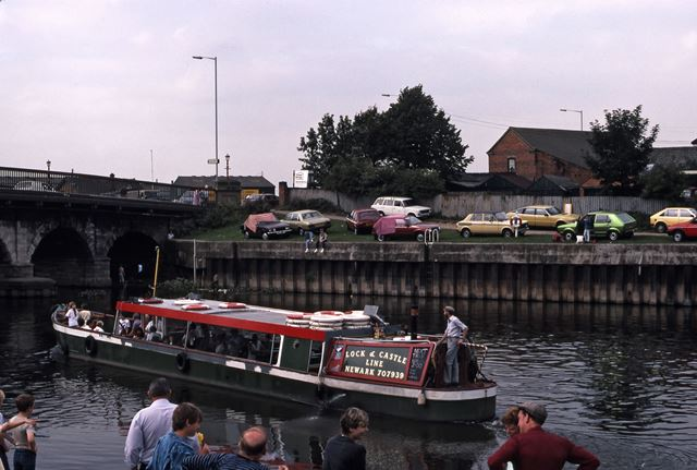 Trent Bridge, River Trent, Newark, 1987